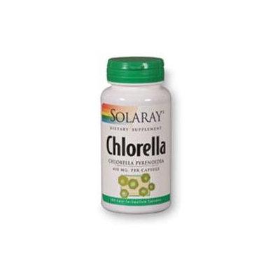 Solaray Chlorella - 410 mg - 100 Capsules