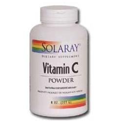 Solaray Vitamin C Powder - 5000 mg - 8 oz