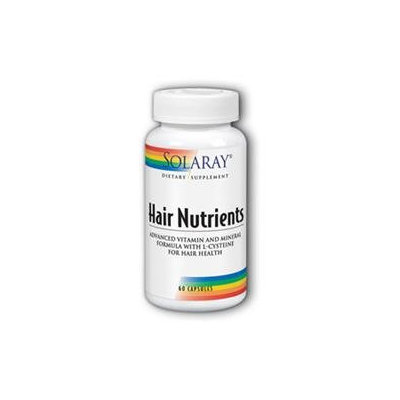 Solaray Hair Nutrients With L-Cysteine - 60 Capsules - Other Supplements