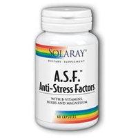 Solaray A.S.F. Anti-Stress Factors - 60 Capsules