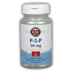 KAL P-5-P - 50 Tablets - Vitamin B-6