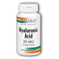 Solaray Hyaluronic Acid - 20 mg - 60 Capsules