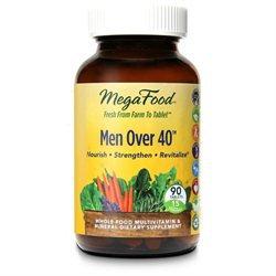MegaFood - Men Over 40 Multivitamin - 90 Tablets