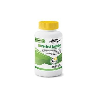 Super Nutrition - Perfect Family - 120 Vegetarian Tablets formerly Perfect Blend