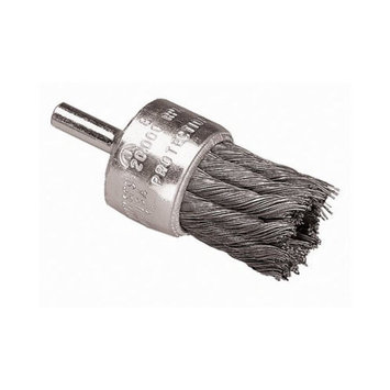Advance Brush Coated Cup Knot End Brushes - 1