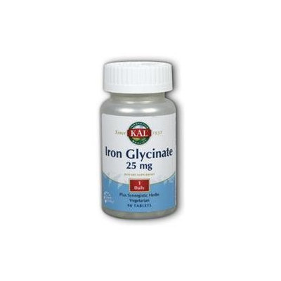 Kal Iron Glycinate - 25 mg - 90 Tablets