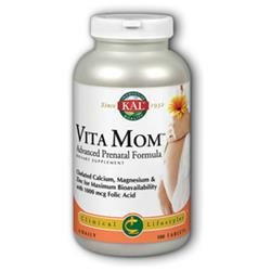 Kal Vita Mom Advanced Prenatal Formula - 180 Tablets