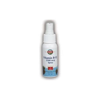 Vitamin B-12 Spray 2500 mcg Kal 2 oz Liquid