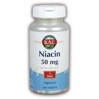 Kal Niacin - 50 mg - 200 Tablets
