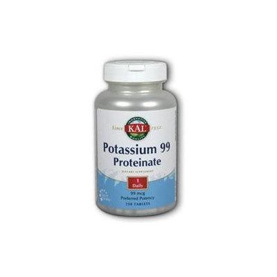 Kal Potassium 99 Proteinate - 250 Tablets