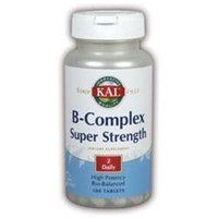 Kal B-Complex Super Strength - 100 Tablets