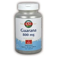 KAL Guarana 800 MG - 120 Tablets - Other Herbs