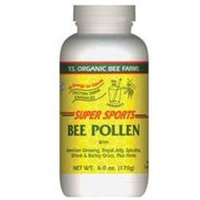 YS Royal Jelly/Honey Bee Bee Pollen Super Sports - 6 Ounces Powder - Bee Products