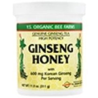 YS Organic Bee Farms - Korean Ginseng In Honey 18600 mg. - 11 oz. CLEARANCE PRICED