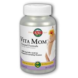 KAL Vita Mom - 120 Tablets - Prenatal Multivitamins