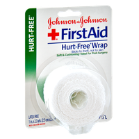 Johnson & Johnson First Aid Hurt-Free 1in. Wrap