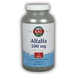 Kal Alfalfa 500 mg - 500 Tablets