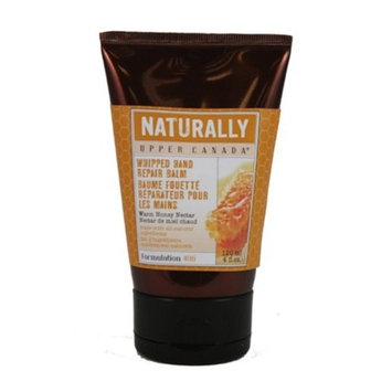 Upper Canada Soap   Candle Upper Canada Soap & Candle Naturally Hand Repair Balm, Warm Honey Nectar, 4-Ounce Tubes (Pack of 3)