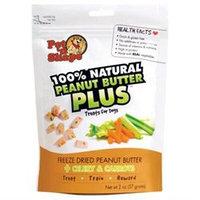 Pet 'n Shape Freeze Dried Peanut Butter + Celery & Carrots: 2 oz