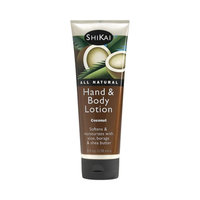 ShiKai All Natural Hand and Body Lotion Coconut