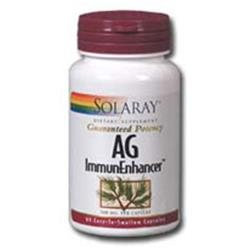 Solaray Ag Immunenhancer - 60 Capsules - Other Immune Support