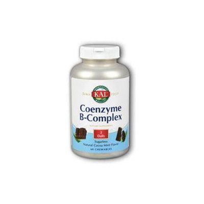 Kal Coenzyme B-Complex Cocoa Mint - 60 Chewables