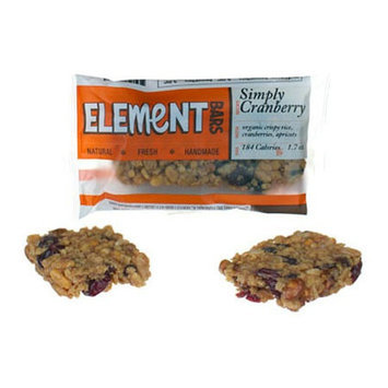 Element Bars Simply Cranberry Energy Bars 12 Pack