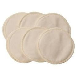 Itzy Ritzy Glitzy Gals Washable Nursing Pads Set - Cream
