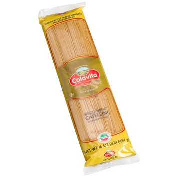 Colavita Whole Wheat Capellini, 16-Ounce Bags (Pack of 20)