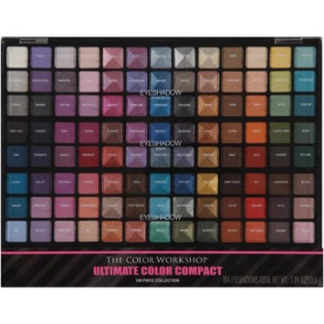 The Color Workshop Ultimate Color Compact Eyeshadow Kit, 106 pc