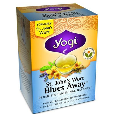 Yogi Teas Yogi Herbal Tea, St. John's Wort Blues Away