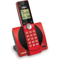 VTech CS6919-16 DECT 6.0 Cordless Phone with Caller ID - Red