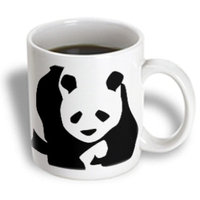 Recaro North 3dRose - PS Creations - Panda Bear - Animals - Cute Art - 15 oz mug
