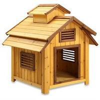 Pet Squeak Bird House Dog House - Medium