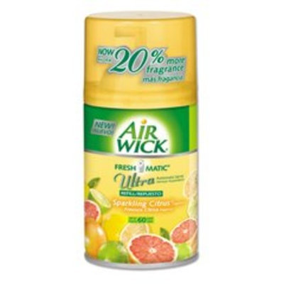 Reckitt Benckiser Air Wick Freshmatic Refill, Sparkling Citrus, Aerosol, 6.17 oz