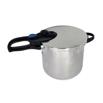 Better Chef - 8-quart Pressure Cooker - Silver