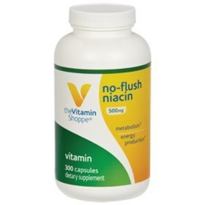 Vitamin Shoppe - No-Flush Niacin, 500 mg, 300 capsules