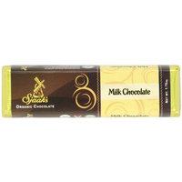 Sjaaks Sjaak's Organic Milk Chocolate Bar, 1.75 Ounce (Pack of 18)