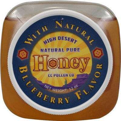 C.c. Pollen C C Pollen Natural Pure Honey Blueberry - 12 Oz, 2 Pack
