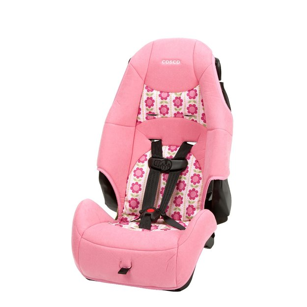 Cosco High Back Booster Car Seat Abby Lane
