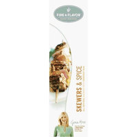 Fire & Flavor Skewers & Spice Set w Everyday Rub Packet