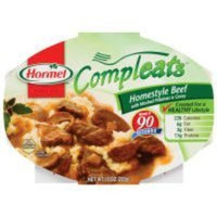 Hormel, Compleats Microwave Meal, Homestyle Beef, 10oz Tray (Pack of 6)