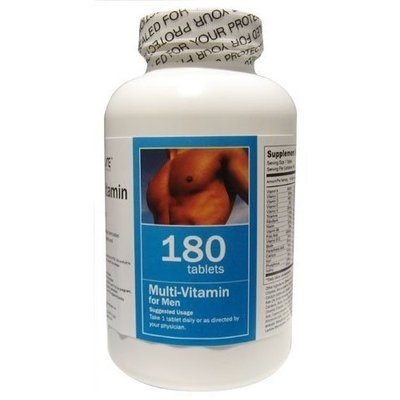 All Nature Multivitamin for Men 180 Tablets