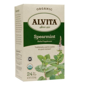 Alvita Organic Tea Bag Spearmint
