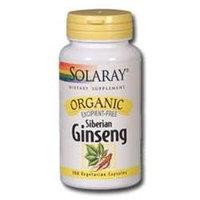 Solaray Organic Siberian - 100 Capsules - Other Herbs