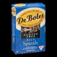De Boles Rice Spirals Gluten Free