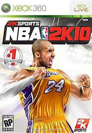 XBox 360 NBA 2K10 Video Game