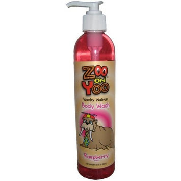 Zoo On Yoo Wacky Walrus Kid's Body Wash - Raspberry 10 Oz