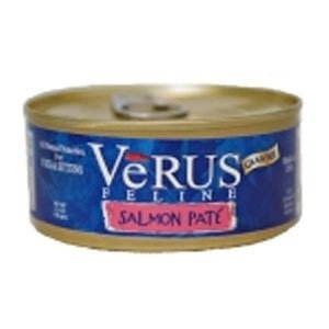 Verus Grain Free Salmon Pate Canned Wet Cat Food (5.5 oz.) (Set of 24)