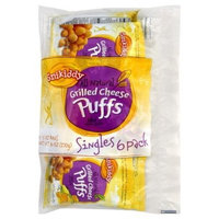Snikiddy, Grilled Cheese Puffs, 6 x 1.00 OZ (Pack of 12)